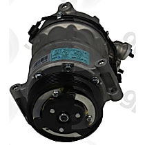 6513172 A/C Compressor Sold individually with Clutch, 6-Groove Pulley