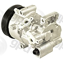 6513179 A/C Compressor Sold individually with Clutch, 6-Groove Pulley