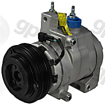 A/C Compressor Sold individually, 4 Groove, Without Ambient Temp