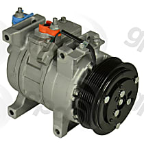 6513241 A/C Compressor Sold individually with Clutch, 6-Groove Pulley