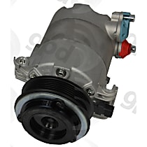 6513281 A/C Compressor Sold individually with Clutch, 6-Groove Pulley