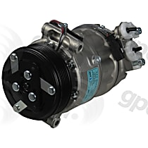 6513305 A/C Compressor Sold individually with Clutch, 6-Groove Pulley