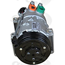 6513322 A/C Compressor Sold individually With clutch, 5-Groove Pulley