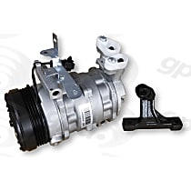 6513347 A/C Compressor Sold individually with Clutch, 4-Groove Pulley