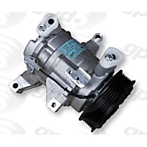 6513349 A/C Compressor Sold individually with Clutch, 6-Groove Pulley