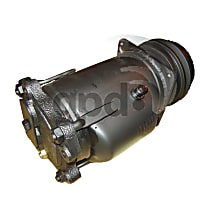 7511251 A/C Compressor Sold individually With clutch, 1-Groove Pulley