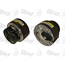 7511368 A/C Compressor Sold individually With clutch, 1-Groove Pulley