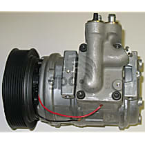 7511490 A/C Compressor Sold individually With clutch, 7-Groove Pulley