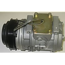 7511604 A/C Compressor Sold individually With clutch, 4-Groove Pulley