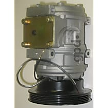 7511626 A/C Compressor Sold individually With clutch, 4-Groove Pulley