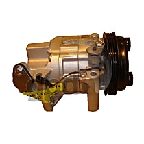 7511681 A/C Compressor Sold individually with Clutch, 4-Groove Pulley