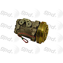 7511790 A/C Compressor Sold individually With clutch, 4-Groove Pulley