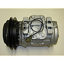 7511791 A/C Compressor Sold individually With clutch, 1-Groove Pulley