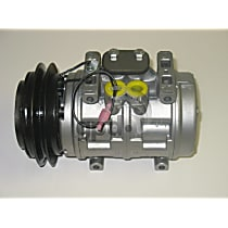 7511815 A/C Compressor Sold individually With clutch, 1-Groove Pulley