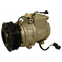 A/C Compressor With clutch, 7-Groove Pulley