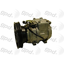 7511848 A/C Compressor Sold individually With clutch, 5-Groove Pulley