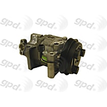7511876 A/C Compressor Sold individually with Clutch, 4-Groove Pulley
