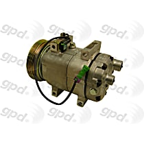 7511889 A/C Compressor Sold individually With clutch, 4-Groove Pulley