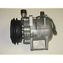7511920 A/C Compressor Sold individually With clutch, 1-Groove Pulley