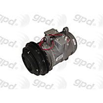 7512001 A/C Compressor Sold individually With clutch, 1-Groove Pulley