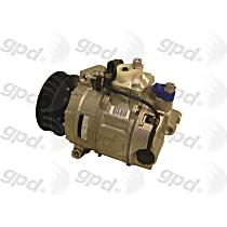 7512184 A/C Compressor Sold individually With clutch, 7-Groove Pulley