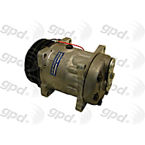 7512353 A/C Compressor Sold individually With clutch, 2-Groove Pulley