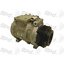 7512362 A/C Compressor Sold individually With clutch, 6-Groove Pulley
