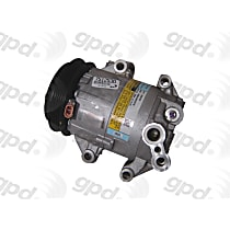 7512530 A/C Compressor Sold individually With clutch, 4-Groove Pulley