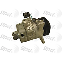 7512541 A/C Compressor Sold individually With clutch, 6-Groove Pulley