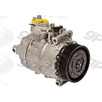 7512792 A/C Compressor Sold individually With clutch, 7-Groove Pulley