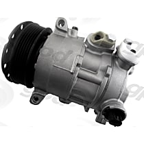 7512808 A/C Compressor Sold individually With clutch, 6-Groove Pulley