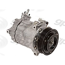 7512898 A/C Compressor Sold individually With clutch, 6-Groove Pulley