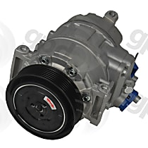 7512899 A/C Compressor Sold individually With clutch, 6-Groove Pulley