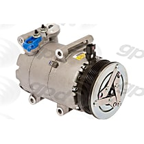 7512914 A/C Compressor Sold individually With clutch, 6-Groove Pulley