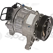 7512916 A/C Compressor Sold individually With clutch, 6-Groove Pulley