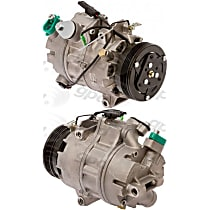 7512975 A/C Compressor Sold individually With clutch, 4-Groove Pulley