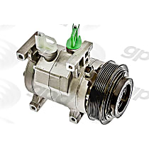 7513052 A/C Compressor Sold individually With clutch, 6-Groove Pulley