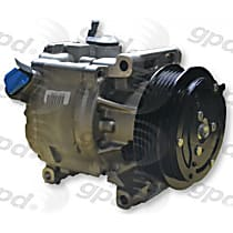 7513154 A/C Compressor Sold individually With clutch, 5-Groove Pulley