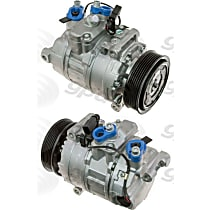 7513174 A/C Compressor Sold individually With clutch, 6-Groove Pulley