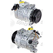 7513212 A/C Compressor Sold individually With clutch, 4-Groove Pulley