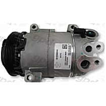 7513291 A/C Compressor Sold individually With clutch, 5-Groove Pulley