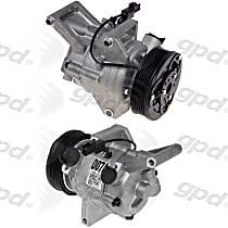 7513312 A/C Compressor Sold individually with Clutch, 6-Groove Pulley