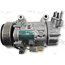 7513325 A/C Compressor Sold individually With clutch, 6-Groove Pulley