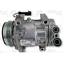7513371 A/C Compressor Sold individually With clutch, 4-Groove Pulley