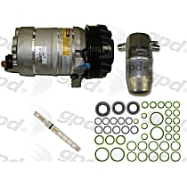9611648 A/C Compressor Kit With clutch, 6-Groove Pulley