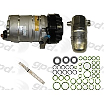 9611649 A/C Compressor Kit With clutch, 6-Groove Pulley