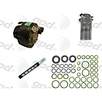 9611678 A/C Compressor Kit With clutch, 6-Groove Pulley
