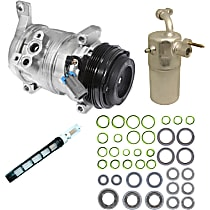 9611809 A/C Compressor Kit With clutch, 4-Groove Pulley