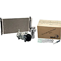 9641295A A/C Compressor Kit Without clutch, Not Applicable