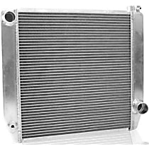 Griffin Chevy Outlet Configuration 1-55182-X Aluminum Radiator, 1.5in Driver Side Inlet, 1.75in Passenger Side Outlet, 22in W, 19in H, 3in D